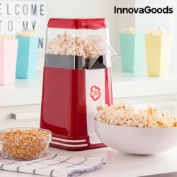 Machine à Pop-Corn Hot & Salty Times InnovaGoods 1200W Rouge fonctionnelle