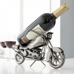 porte bouteilles métallique moto vue de profil