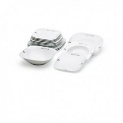 vaisselle en porcelaine antonio miro 13 pièces