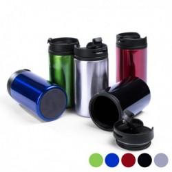 Verre avec Couvercle (290 ml) 144880 différents coloris