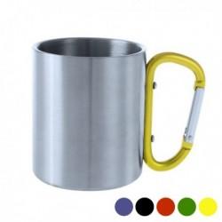 Tasse avec Poignée Mousqueton (210 ml) différents coloris