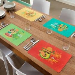 Dessous de Plat Avocat Mexicain différents coloris