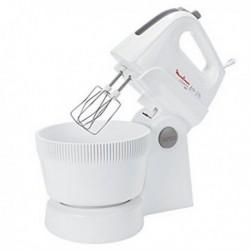 Mixeur/mélangeur de pâte Moulinex HM 6151 Powermix avec son Bol de 3.3 L 500W Blanc