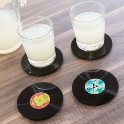 Dessous de verres Disc (pack de 4) élégants