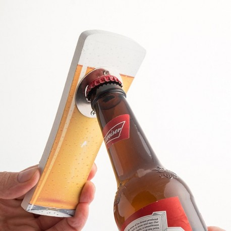 Ouvre bouteille Beer Collection fonctionnel