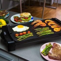 Plaque chauffante grill Cecotec Rock & Water 2500 2150W Noir élégante