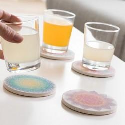 Dessous de verres Mandala élégants