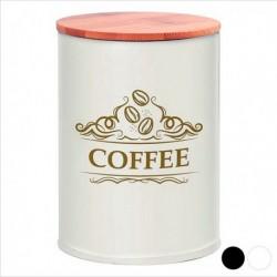 Boîte en métal Coffee 111248 blanche