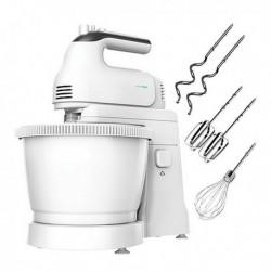 Mixeur/mélangeur de pâte Cecotec PowerTwist Gyro 500W 3.5L Blanc élégant et fonctionnel