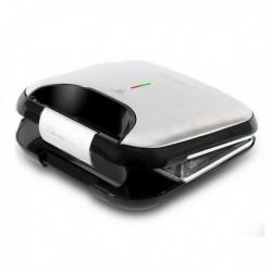 Machine à sandwich Cecotec Rock'nToast Fifty-Fifty 750W Acier inoxydable pratique