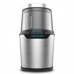 Broyeur Cecotec TitanMill 300 DuoClean Acier inoxydable vue de profil