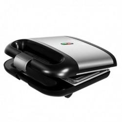 Machine à sandwich Cecotec Rock-nToast 70w Noir Acier inoxydable élégante