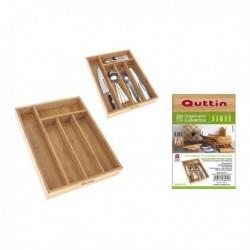 Range couverts Quttin Bambou (34x26x4cm)