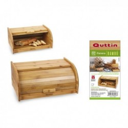 Boîte à pain Quttin Bambou (40 x 25.5 x 18 cm)