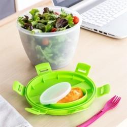 Boîte à lunch salade 2 L élégante et pratique