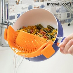 Egouttoir en silicone Pastrainer InnovaGoods fonctionnel