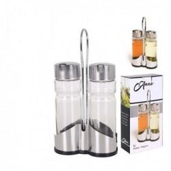 Set d'huile-vinaigre (3 pièces)